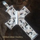 Sterling Silver Christian Cross Pendant SSP-154-KT