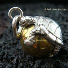 925 Silver Turtle Chime Ball Pendant 14mm CH-184-KT