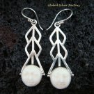 Sterling Silver Fancy Style Goddess Earrings GDE-923-NY