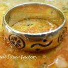 Sterling Silver Egyptian Style Ring SR-211-KA