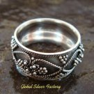 Sterling Silver Balinese Ring SR-131-KT