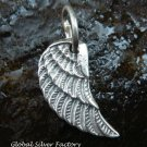 Sterling Silver Angel Wing Pendant SSP-136-KT