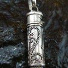 Sterling Silver Keepsake, Perfume, Cremation Pendant PP-372-KT