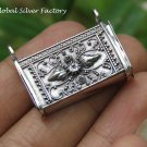 Sterling Silver Balinese Prayer Locket Pendant LP-247