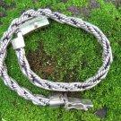 Sterling Silver Woven Design Bracelet MJ-135