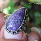 Handcrafted Sugilite Gemstone Ring RI-675
