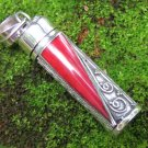 Red Coral Perfume Cremation Pendant PP-510