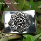 Om Design Sterling Silver Prayer Locket Pendant LP-246-KA