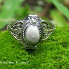 Ocean Jasper Poison Locket Ring LR-750-KT