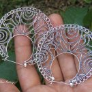 Sterling Silver Filigree Design Earrings SE-287