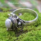 Ocean Jasper Poison Locket Ring LR-757