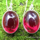 Genuine Ruby Gemstone Earrings ER-849