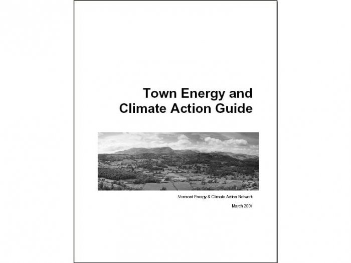 Town Energy and Climate Action Guide (Vermont)