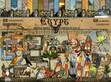 Egypt Digital Scrapbook Kit