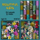 Beautiful Asia Digital Scrapbook Kit