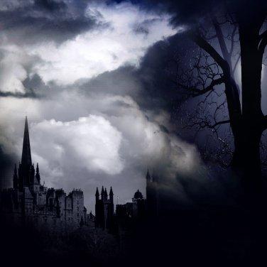 Gothic Nights Digital Scrapbook Kit