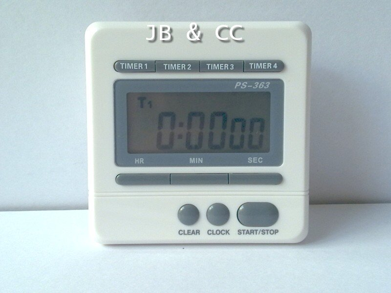 4 event 4-channel groups digital timer clock countdown for kitchen laboratory use