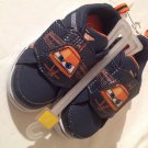 NEW Toddler Boys Size 7 Navy Disney Planes Sneakers - Plane's Eyes Light Up!