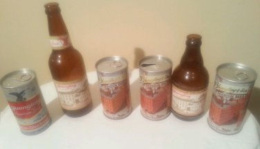 Vintage Yuengling Bottles & Cans 149th, 150th & 151st Years - 1978, 1979 & 1980