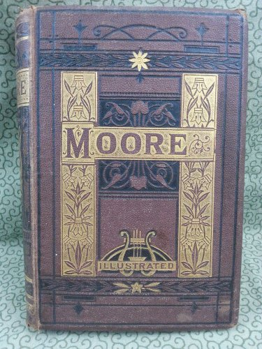 1879? Early Hardcover Edition of The Poetical Works of Thomas Moore Illustrated