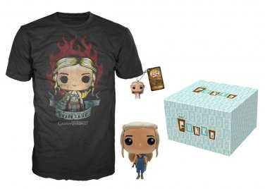 Funko Game of Thrones Daenerys Targaryen Bundle, Large - 3 Piece Bundle!