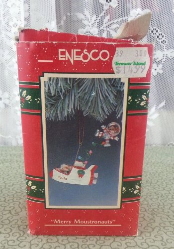 "1990 Enesco ""Merry Moustronauts"" Ornament"
