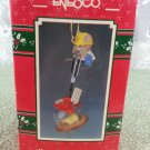 "1990 Enesco ""Don't Open 'Til Christmas"" Ornament"