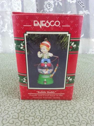 "1992 Enesco ""Bubble Buddy"" 4th & Final Forever Friends Series Ornament"
