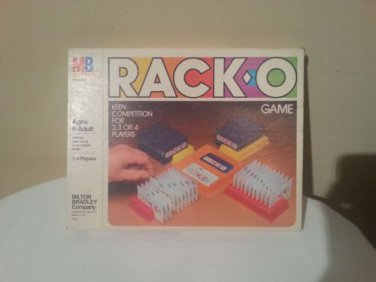Vintage 1980 Milton Bradley Company Rack-O for Ages 8-Adult & 2-4 Players