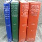 1954, 1957 & 1960 Vol. I & II Scott's Standard Postage Stamp & Specialized Books