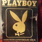 Vintage 1984 Playboy Thirtieth Anniversary Issue & Marilyn Monroe Photo