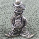 "3"" Peltro Italy Pewter Smiling Clown"