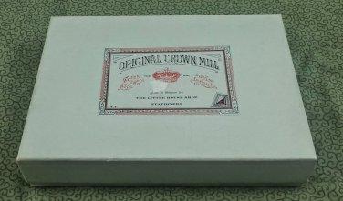 Original Crown Mill Writing Paper & Super Fine Envelopes - Made in Belgium