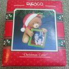 "1991 Enesco ""Christmas Cutie"" Treasury of Christmas Ornament"