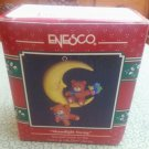 "1992 Enesco Treasury ""Moonlight Swing"" Christmas Ornament"