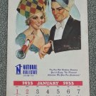 1933/1978 Liberty A Weekly For Everybody Wall Calendar