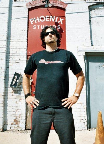 the MEGASONICS mens T-Shirt LG