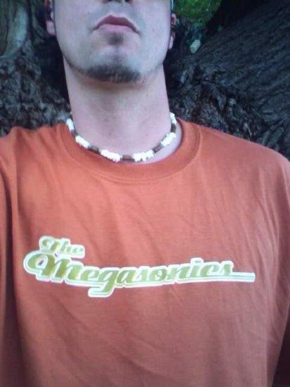 the MEGASONICS mens T-Shirt XL