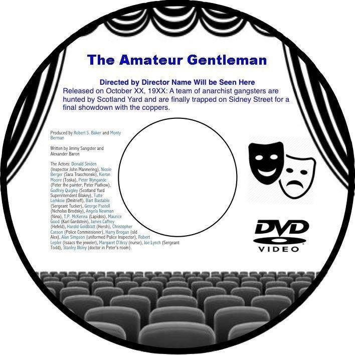 The Amateur Gentleman 1936 DVD Film Novel Alfred Zeisler Douglas Fairbanks Jr.