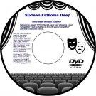 Sixteen Fathoms Deep 1934 DVD Film Greek Sponge Diving Adventure Armand Schaefer