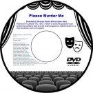 Please Murder Me 1956 DVD Drama Film Angela Lansbury Raymond Burr Dick Foran