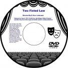 Two Fisted Law 1932 DVD Film Romantic Cowboy Adventure D. Ross Lederman Tim McCo