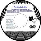 Suspended Alibi 1957 DVD Film Drama Alfred Shaughnessy Patrick Holt Honor Black