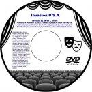 Invasion U.S.A. 1952 DVD Film A-Bomb Nuclear War Thriller Alfred E. Green Gerald