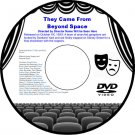 They Came From Beyond Space 1967 DVD Film Science Fiction Freddy Francis The Act