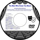 The Man Who Knew Too Much 1935 Thriller DVD Alfred Hitchcock Leslie Banks Edna