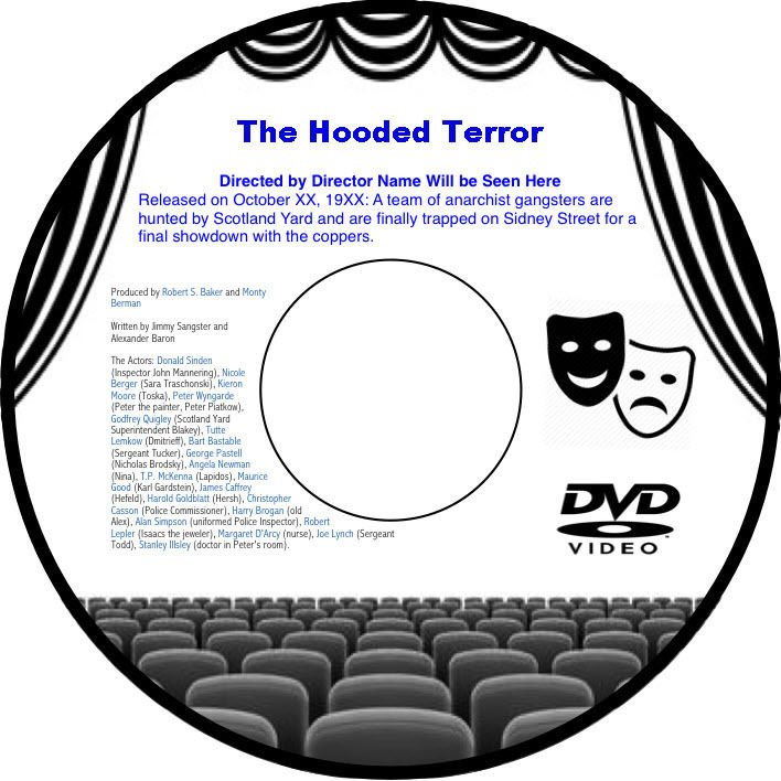 The Hooded Terror 1938 DVD Film Horror George King George Curzon Tod Slaugh