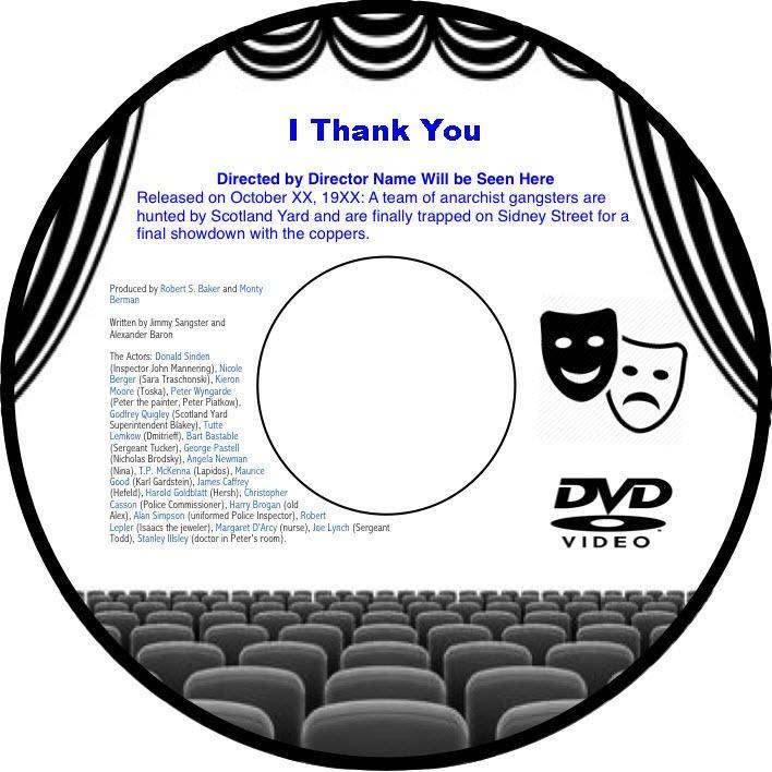 I Thank You 1941 DVD Film UK Comedy Arthur Askey Richard Murdoch Lily Morris