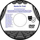 Santa Fe Trail 1940 DVD Western Film Errol Flynn Ronald Reagan Olivia de Havilla