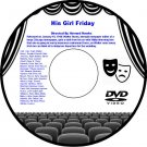 His Girl Friday 1940 DVD Film Comedy Cary Grant Rosalind Russell Ralph Bellamy